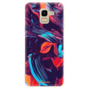 Silikonové odolné pouzdro iSaprio - Color Marble 19 na mobil Samsung Galaxy J6