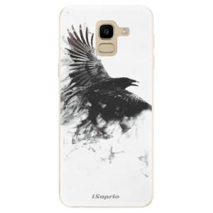 Silikonové odolné pouzdro iSaprio - Dark Bird 01 na mobil Samsung Galaxy J6