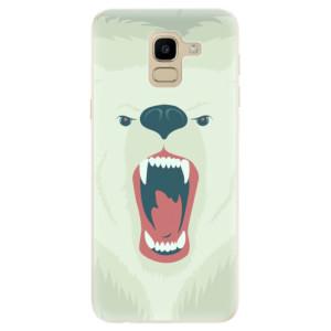 Silikonové odolné pouzdro iSaprio - Angry Bear na mobil Samsung Galaxy J6