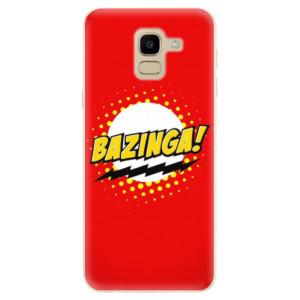 Silikonové odolné pouzdro iSaprio - Bazinga 01 na mobil Samsung Galaxy J6