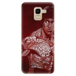 Silikonové odolné pouzdro iSaprio - Bruce Lee na mobil Samsung Galaxy J6