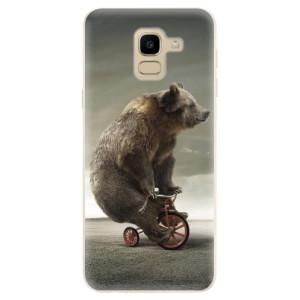 Silikonové odolné pouzdro iSaprio - Bear 01 na mobil Samsung Galaxy J6