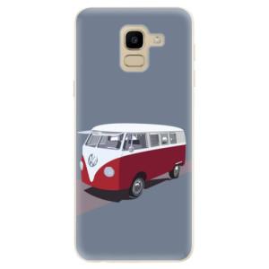 Silikonové odolné pouzdro iSaprio - VW Bus na mobil Samsung Galaxy J6