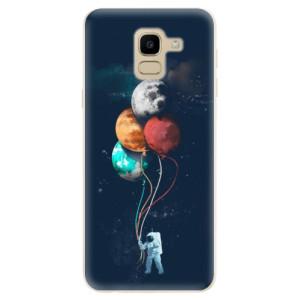 Silikonové odolné pouzdro iSaprio - Balloons 02 na mobil Samsung Galaxy J6