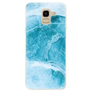 Silikonové odolné pouzdro iSaprio - Blue Marble na mobil Samsung Galaxy J6