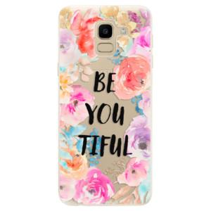 Silikonové odolné pouzdro iSaprio - BeYouTiful na mobil Samsung Galaxy J6