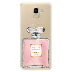 Silikonové odolné pouzdro iSaprio - Chanel Rose na mobil Samsung Galaxy J6