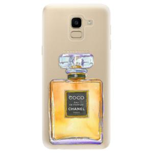 Silikonové odolné pouzdro iSaprio - Chanel Gold na mobil Samsung Galaxy J6