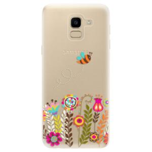 Silikonové odolné pouzdro iSaprio - Bee 01 na mobil Samsung Galaxy J6