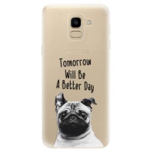 Silikonové odolné pouzdro iSaprio - Better Day 01 na mobil Samsung Galaxy J6 poslední kus za tuto cenu