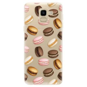 Silikonové odolné pouzdro iSaprio - Macaron Pattern na mobil Samsung Galaxy J6 - poslední kousek za tuto cenu