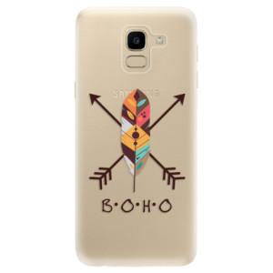 Silikonové odolné pouzdro iSaprio - BOHO na mobil Samsung Galaxy J6