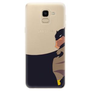 Silikonové odolné pouzdro iSaprio - BaT Comics na mobil Samsung Galaxy J6
