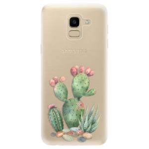 Silikonové odolné pouzdro iSaprio - Cacti 01 na mobil Samsung Galaxy J6