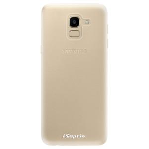 Silikonové odolné pouzdro iSaprio - 4Pure - čiré bez potisku na mobil Samsung Galaxy J6