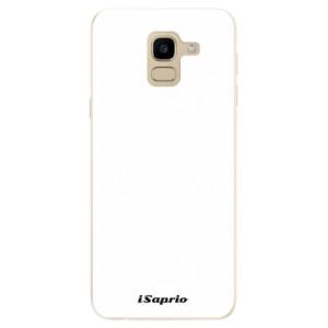 Silikonové odolné pouzdro iSaprio - 4Pure - bílé na mobil Samsung Galaxy J6