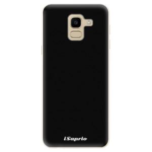 Silikonové odolné pouzdro iSaprio - 4Pure - černé na mobil Samsung Galaxy J6