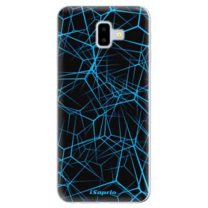 Silikonové odolné pouzdro iSaprio - Abstract Outlines 12 na mobil Samsung Galaxy J6 Plus