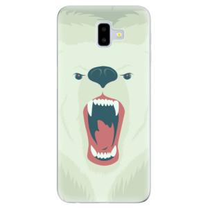 Silikonové odolné pouzdro iSaprio - Angry Bear na mobil Samsung Galaxy J6 Plus