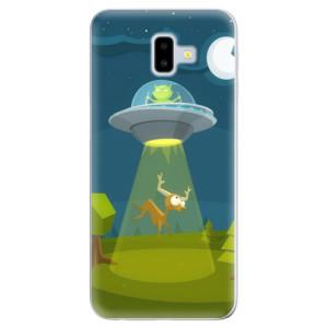 Silikonové odolné pouzdro iSaprio - Alien 01 na mobil Samsung Galaxy J6 Plus