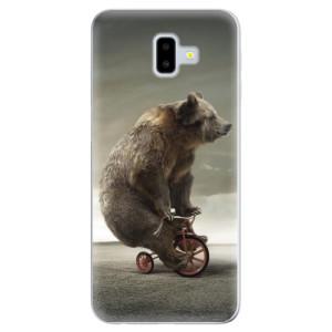 Silikonové odolné pouzdro iSaprio - Bear 01 na mobil Samsung Galaxy J6 Plus