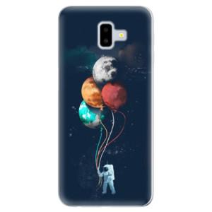 Silikonové odolné pouzdro iSaprio - Balloons 02 na mobil Samsung Galaxy J6 Plus