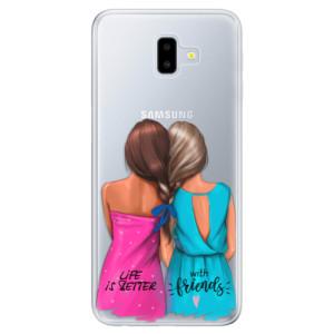 Silikonové odolné pouzdro iSaprio - Best Friends na mobil Samsung Galaxy J6 Plus