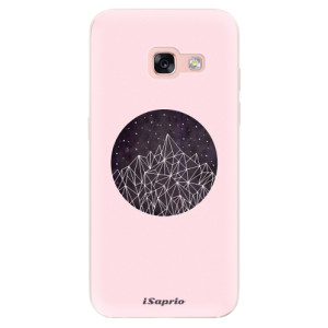 Silikonové odolné pouzdro iSaprio - Digital Mountains 10 na mobil Samsung Galaxy A3 2017