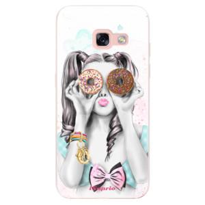 Silikonové odolné pouzdro iSaprio - Donuts 10 na mobil Samsung Galaxy A3 2017