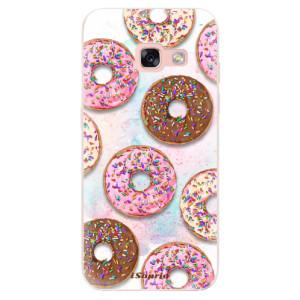 Silikonové odolné pouzdro iSaprio - Donuts 11 na mobil Samsung Galaxy A3 2017