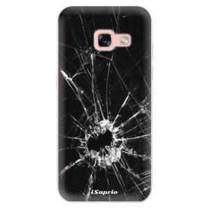 Silikonové odolné pouzdro iSaprio - Broken Glass 10 na mobil Samsung Galaxy A3 2017