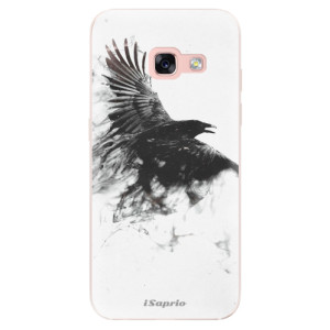 Silikonové odolné pouzdro iSaprio - Dark Bird 01 na mobil Samsung Galaxy A3 2017