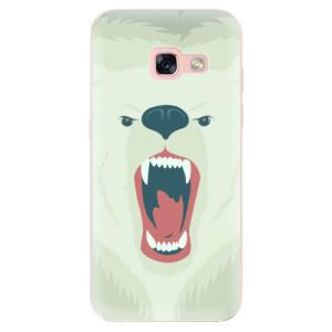 Silikonové odolné pouzdro iSaprio - Angry Bear na mobil Samsung Galaxy A3 2017