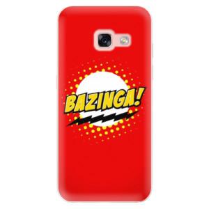 Silikonové odolné pouzdro iSaprio - Bazinga 01 na mobil Samsung Galaxy A3 2017
