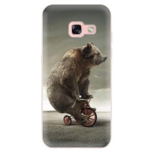 Silikonové odolné pouzdro iSaprio - Bear 01 na mobil Samsung Galaxy A3 2017