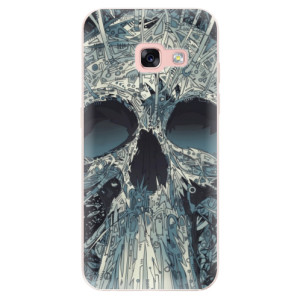 Silikonové odolné pouzdro iSaprio - Abstract Skull na mobil Samsung Galaxy A3 2017