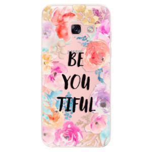 Silikonové odolné pouzdro iSaprio - BeYouTiful na mobil Samsung Galaxy A3 2017