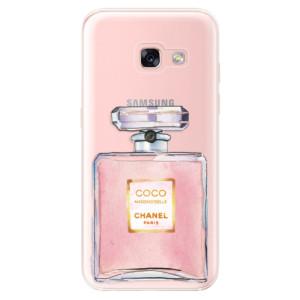 Silikonové odolné pouzdro iSaprio - Chanel Rose na mobil Samsung Galaxy A3 2017