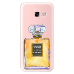 Silikonové odolné pouzdro iSaprio - Chanel Gold na mobil Samsung Galaxy A3 2017