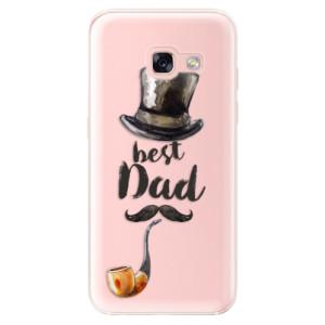 Silikonové odolné pouzdro iSaprio - Best Dad na mobil Samsung Galaxy A3 2017