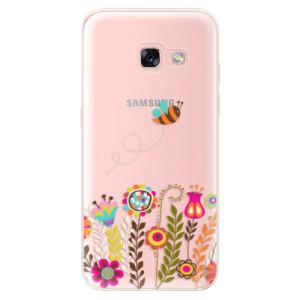 Silikonové odolné pouzdro iSaprio - Bee 01 na mobil Samsung Galaxy A3 2017
