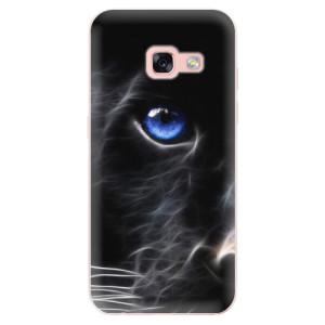 Silikonové odolné pouzdro iSaprio - Black Puma na mobil Samsung Galaxy A3 2017