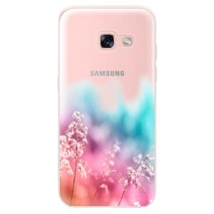 Silikonové odolné pouzdro iSaprio - Rainbow Grass na mobil Samsung Galaxy A3 2017 - poslední kousek za tuto cenu