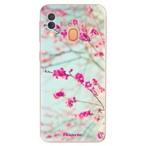 Silikonové odolné pouzdro iSaprio - Blossom 01 na mobil Samsung Galaxy A40