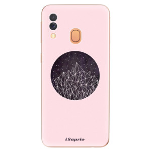 Silikonové odolné pouzdro iSaprio - Digital Mountains 10 na mobil Samsung Galaxy A40