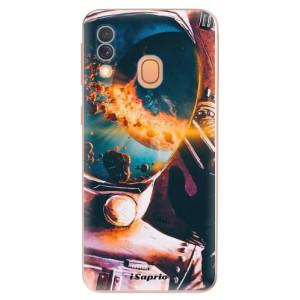 Silikonové odolné pouzdro iSaprio - Astronaut 01 na mobil Samsung Galaxy A40