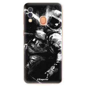 Silikonové odolné pouzdro iSaprio - Astronaut 02 na mobil Samsung Galaxy A40