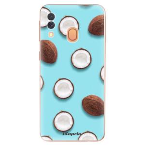 Silikonové odolné pouzdro iSaprio - Coconut 01 na mobil Samsung Galaxy A40