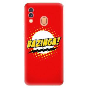 Silikonové odolné pouzdro iSaprio - Bazinga 01 na mobil Samsung Galaxy A40
