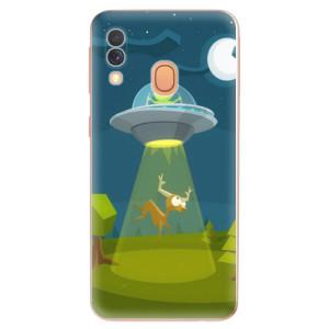 Silikonové odolné pouzdro iSaprio - Alien 01 na mobil Samsung Galaxy A40